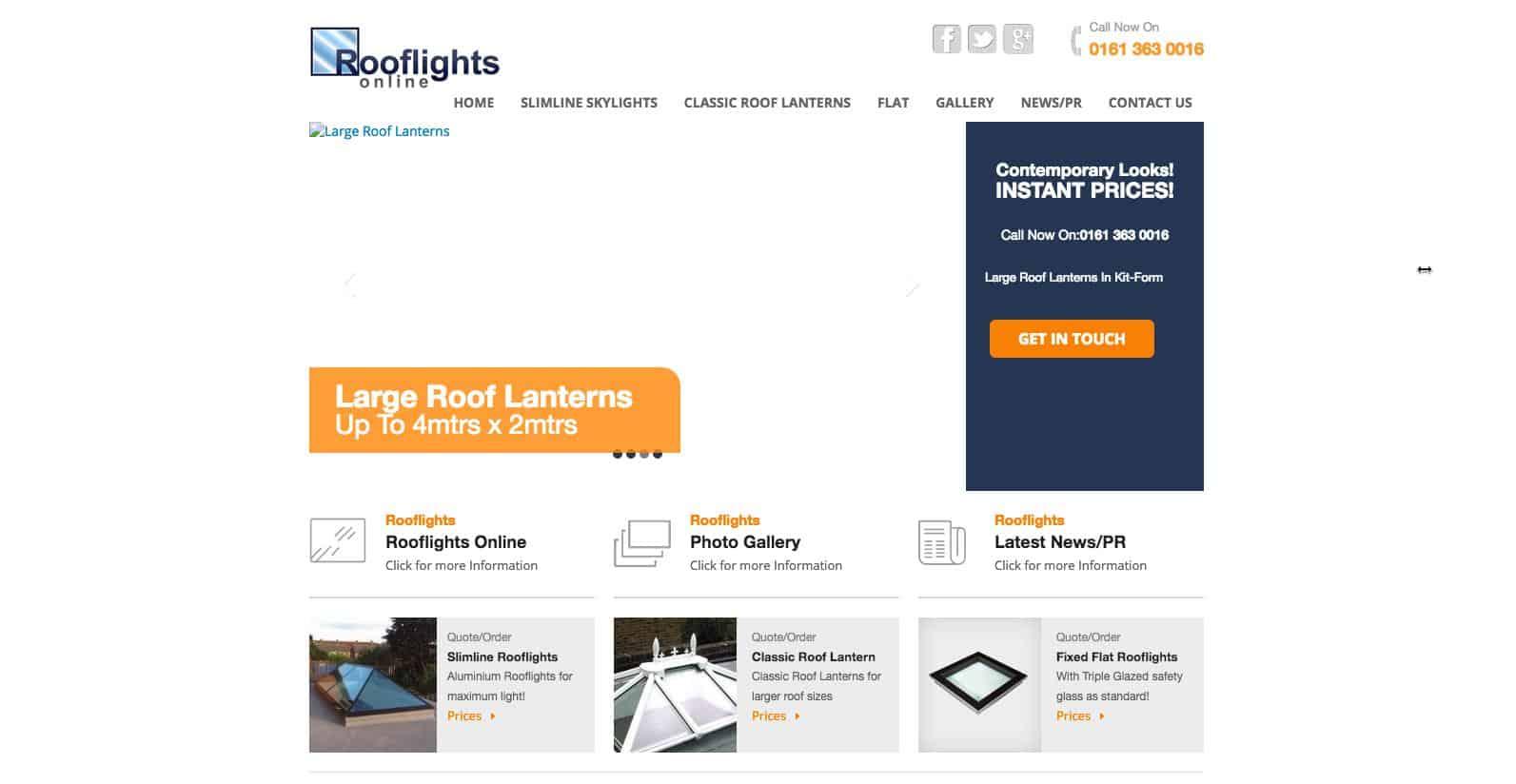 Rooflights Online