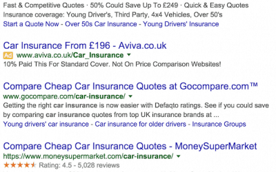What Makes People Click On Search Ads?